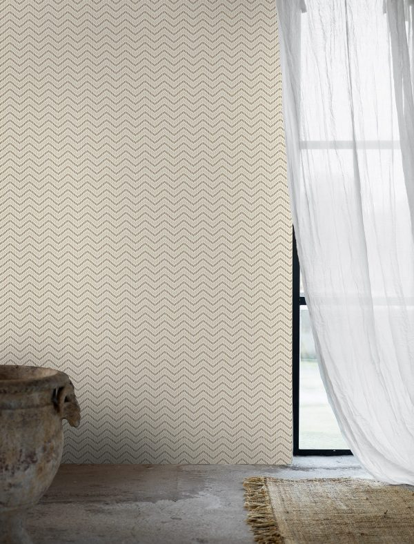 Tapeter Global Living Chevron Dots 6483 6483 Interiör alternativ