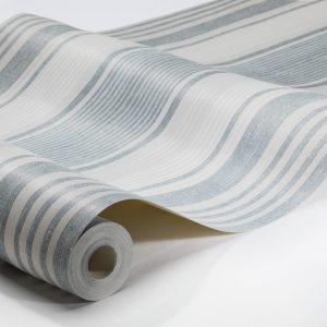 Tapeter Northern Stripes Linen Stripe 6860 6860 Interiör
