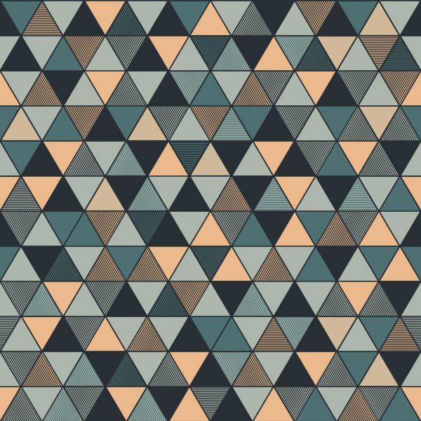 Tapeter Graphic World Triangular 8809 8809 Interiör