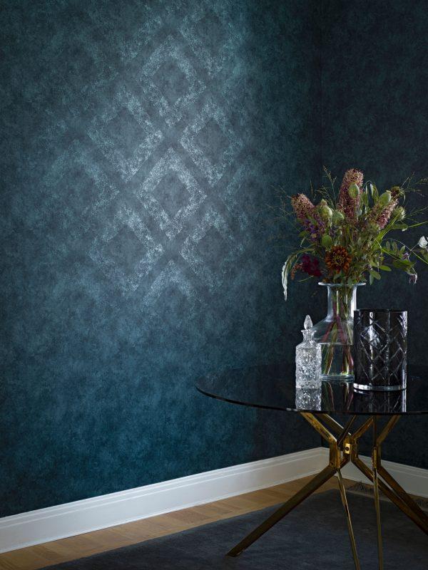 Tapeter Lounge Luxe Classic Royal 6350 6350 Interiör alternativ