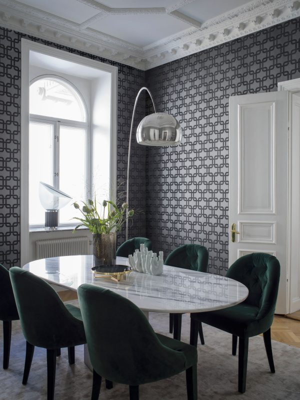 Tapeter Lounge Luxe Waldorf 6384 6384 Interiör alternativ
