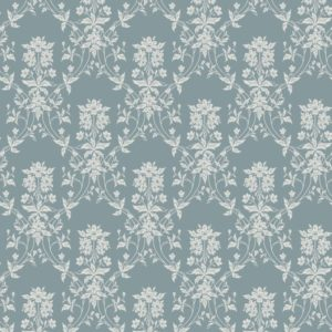 Tapeter Alva indigo blue 809-36 809-36 Mönster