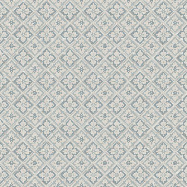 Tapeter Edvin misty blue 482-16 482-16 Interiör