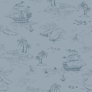 Tapeter Treasure Island 7451 7451 Mönster