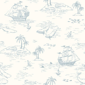 Tapeter Treasure Island 7450 7450 Mönster