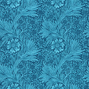 Tapeter QUEEN SQUARE WALLPAPERS - Marigold Navy 216954 216954 Mönster