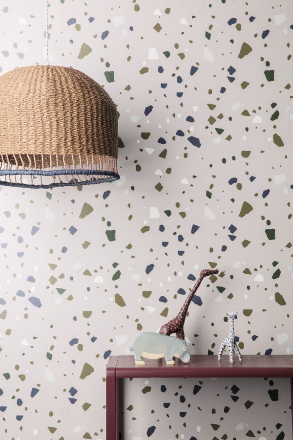 Tapeter Terrazzo Wallpaper - 178 178 Interiör alternativ