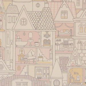 Tapeter Dollhouse 147-01 147-01 Interiör