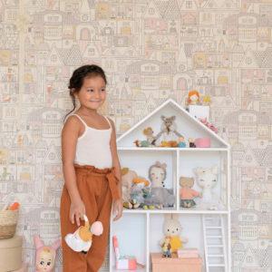 Tapeter Dollhouse 147-01 147-01 Mönster