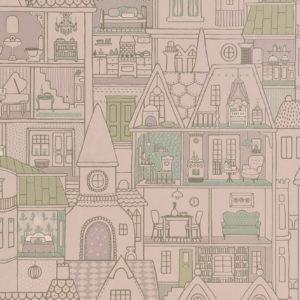 Tapeter Dollhouse 147-02 147-02 Interiör