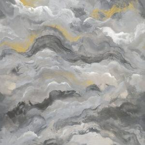 Tapeter väggbild Sierra Charocal Gold 99347 99347 Mönster
