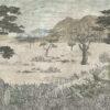 Tapeter Serengeti Savannah 1195 1195 Mönster