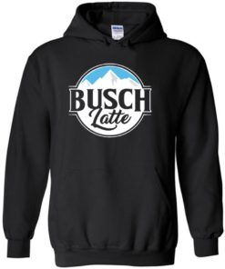 Get Ice Mountain With Busch Latte LongSleeve Tshirt