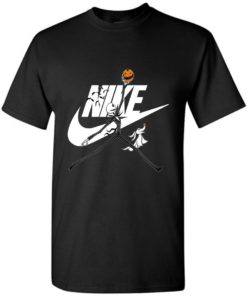 Jack Skellington In Halloween With Nike Unisex Tshirt