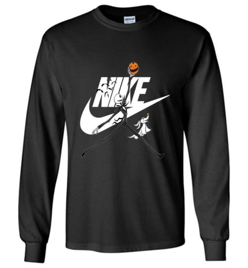Jack Skellington In Halloween With Nike SweatShirt