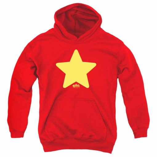 Steven Universe Star Cartoon Network Kids Youth Pullover Hoodie & Stickers  1358 Unisex Tshirt