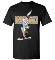 Cool Bugs Bunny Luxury With Gucci Style Unisex Tshirt
