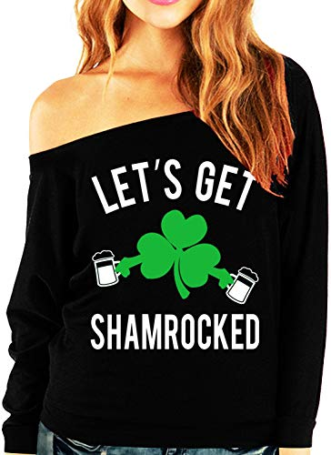 NoBull Woman Apparel Let's Get Shamrocked St. Patrick's Day Unisex Tshirt