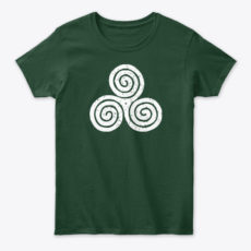 Irish Culture Green Shamrock Clover Art Unisex Tshirt