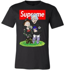Rick And Morty Drunk In Supreme Fashion Unisex Tshirt