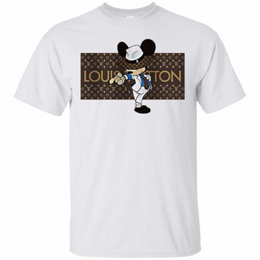 Louis Vuitton Vintage Shirt Inspired Mickey Mouse Disney Unisex Tshirt