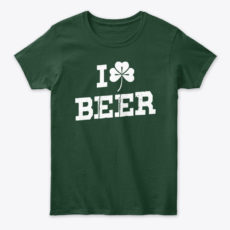 Irish Ancestry I Love Beer Unisex Tshirt