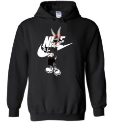Cool Bug Bunny With Nike Jordan Fashion LongSleeve Tshirt