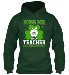I Am A Teacher Irish Whatever Unisex Tshirt