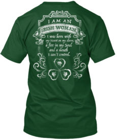 Limited Edition - Irish Woman Unisex Tshirt