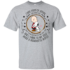Louis Armstrong What A Wonderful World Snoopy Peanut GifT-Shirt Unisex Tshirt