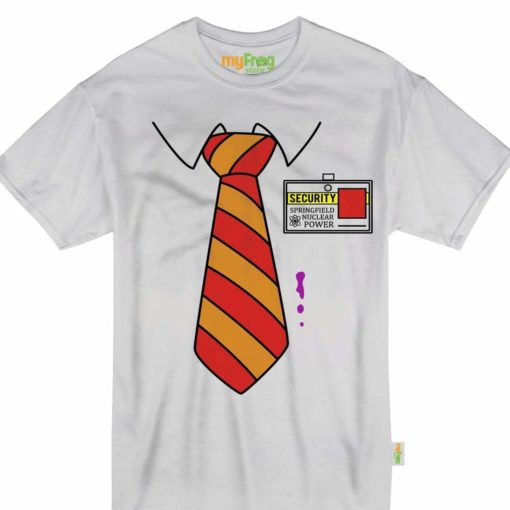 Clothing My Frog Store Homer Suit Tie Halloween Costume Security Nuclear  Youth & Adult Tshirt 3701 Unisex Tshirt