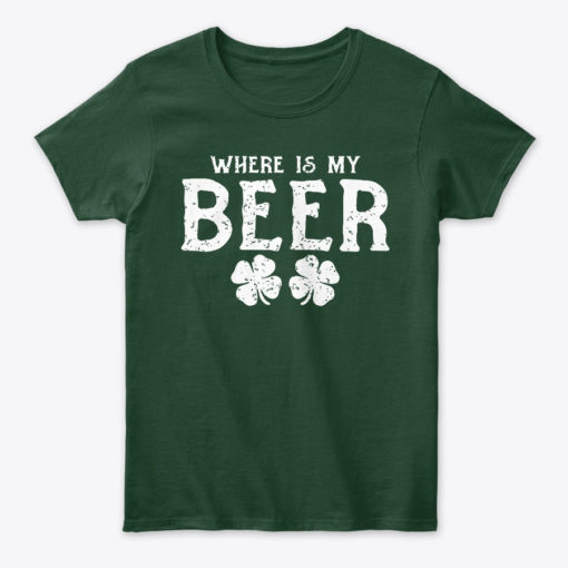 Where Is My Beer Funny Drinking T Unisex Tshirt