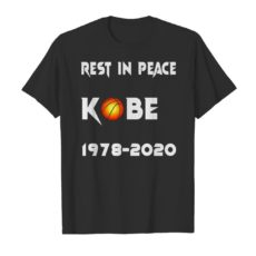 Rest in peace Kobe 1978 2020 Unisex Tshirt