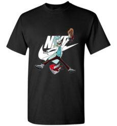 Funny Rick And Morty With Nike Jordan Unisex Tshirt