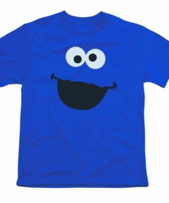 Sesame Street Character Face Youth T Shirt 2688 Unisex Tshirt