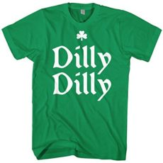 Mixtbrand Men's Dilly Dilly St. Patrick's Day Unisex Tshirt