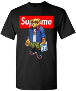 Cool Bear Style Music In Supreme Fashion Unisex Tshirt