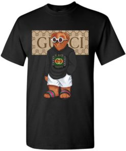 Cool Bigger Bear In Gucci Fashion Unisex Tshirt