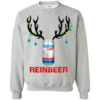 Natural Light Reinbeer Funny Beer Reindeer Christmas Sweatshirt Unisex Tshirt