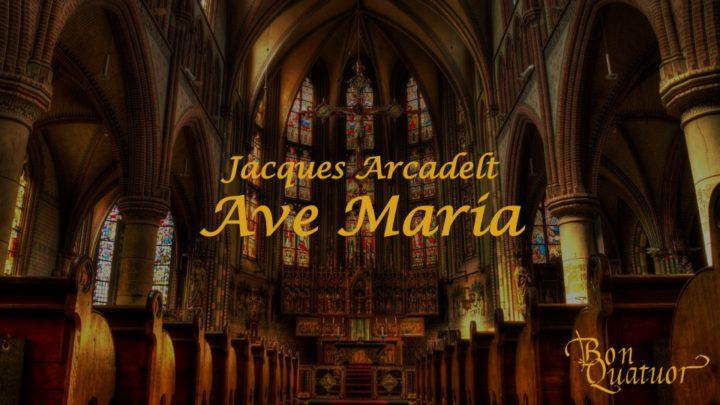 混声アンサンブル Bon Quatuor《Ave Maria》