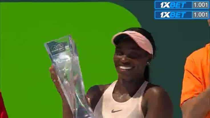Sloane Stephens, Miami Open champion