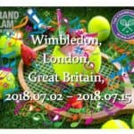 Wimbledon, London, Great Britain, 2018.07.02 – 2018.07.15