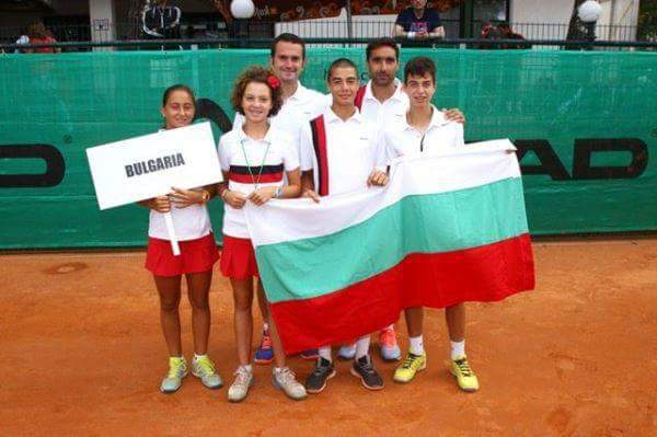 Young Bulgarian Tennis Players