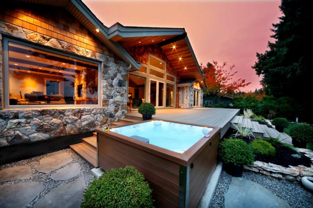 Step Your Yoga Up A Notch With Hot Tub Yoga Hot Tubs Dfw Texas Hot Tub Company