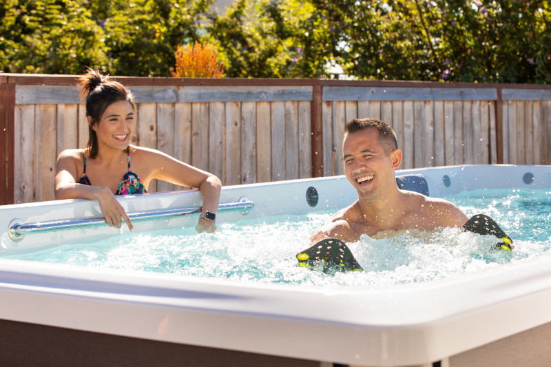 Step Up Your Fitness with a Swim Spa