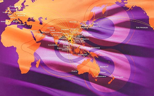 Thai Airways routes