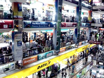 Pantip Plaza shopping mall Bangkok