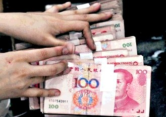 Chinese currency Yuan official name Renminbi