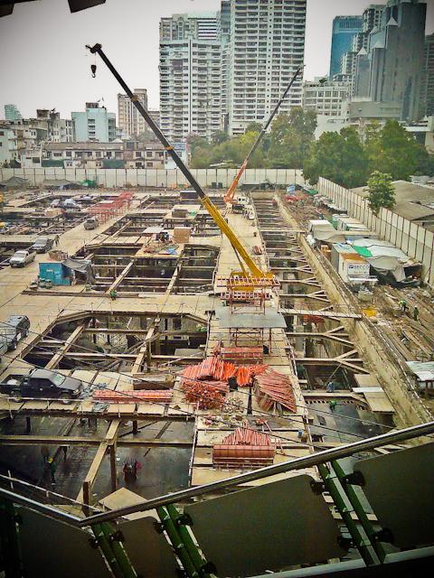 Bangkok construction works