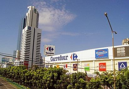 Carrefour Thailand retail